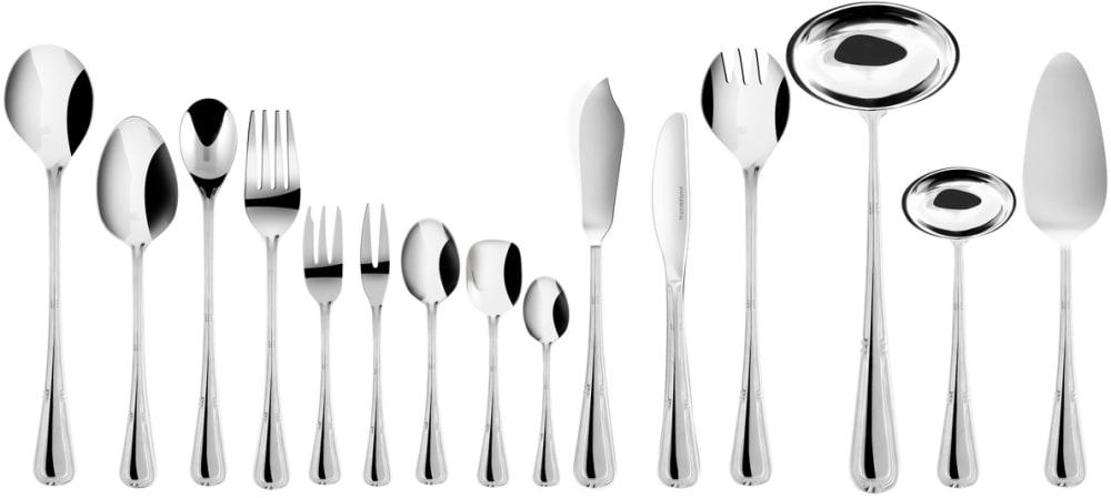 Zestaw trzech widelców obiadowych z zawieszka - Natalia