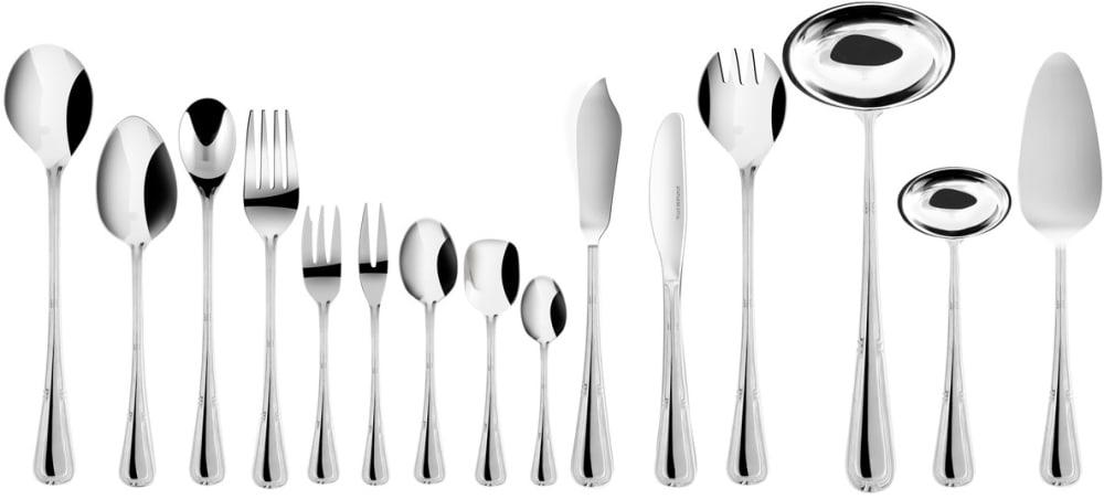 Zestaw trzech noży obiadowych z zawieszką - Natalia