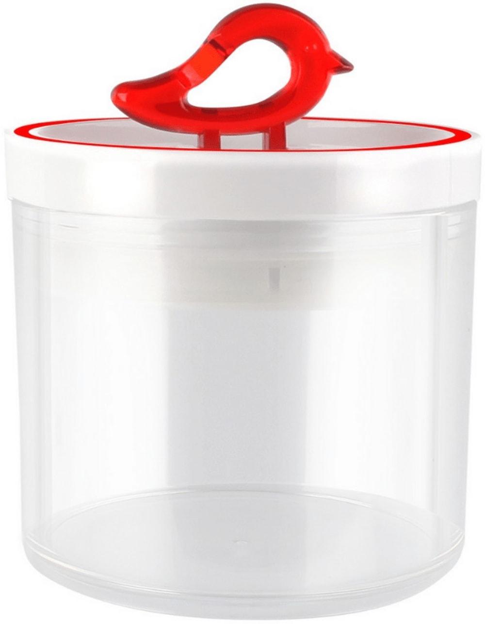 Pojemnik kuchenny czerwony 400 ml Livio Vialli Design