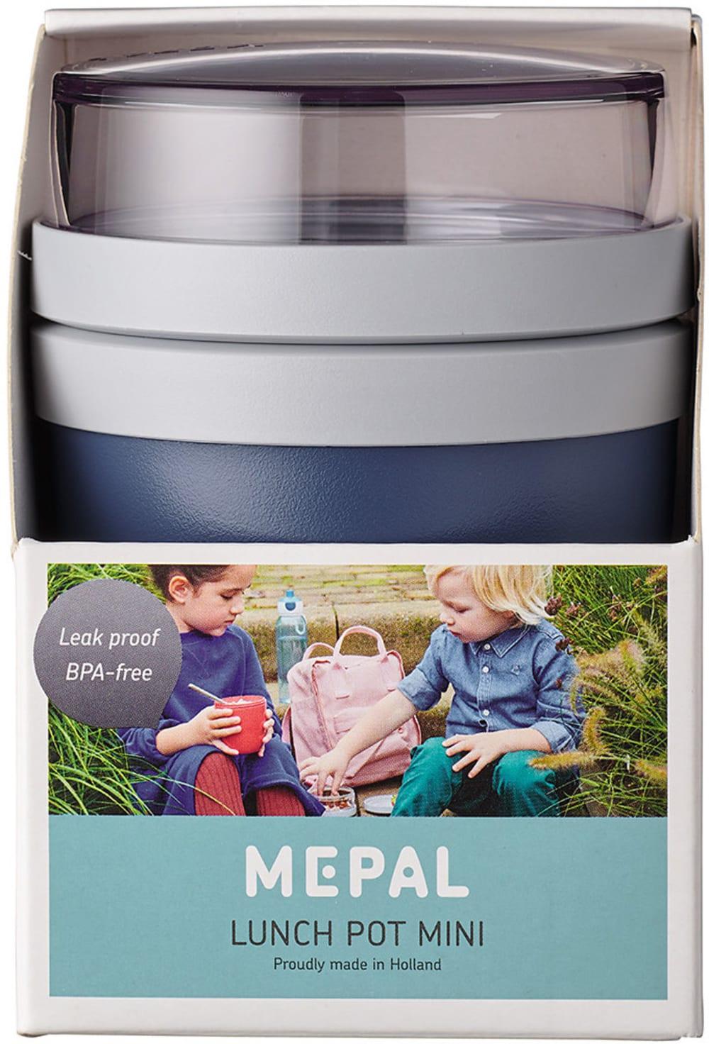 Szczelny lunchpot lunchbox na drugie śniadanie Nordic Denim Ellipse Mini Mepal