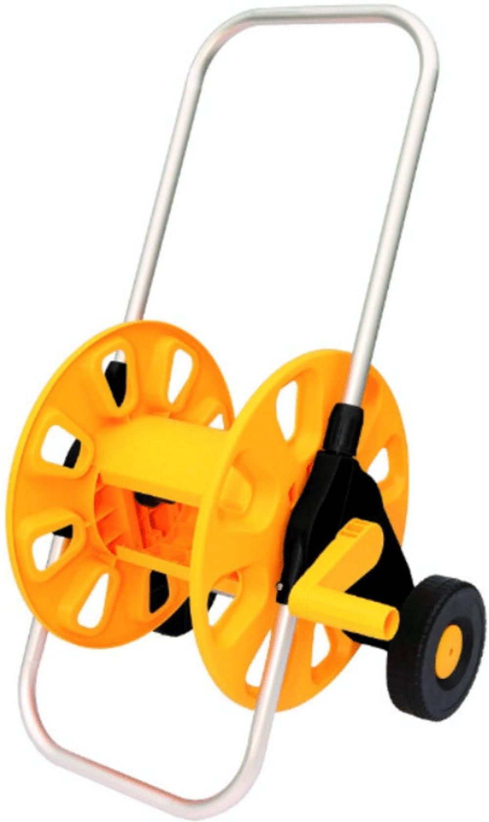 """Wózek na wąż ogrodowy 45m 1/2"""" z wysuwaną rączką"""