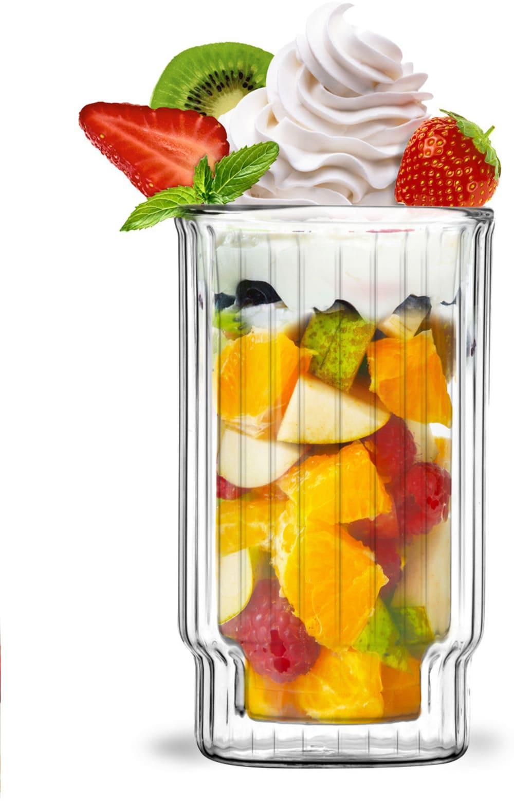 Zestaw 6 pucharków do deserów z podwójną ścianką 300ml Lungo Vialli Design