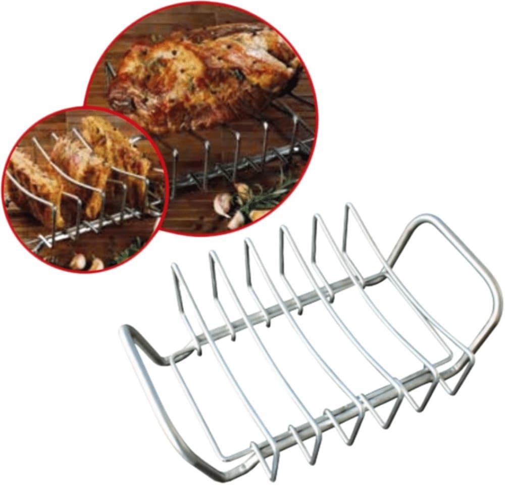 Stojak do grillowania żeberek, steków, karczku, mięsa Master Grill&Party