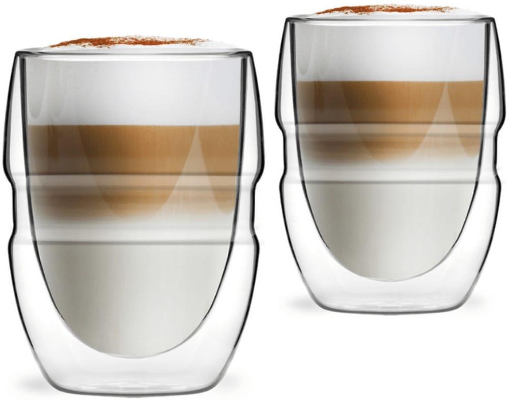 2 szklanki z podwójną ścianką 300ml Sferico Vialli Design