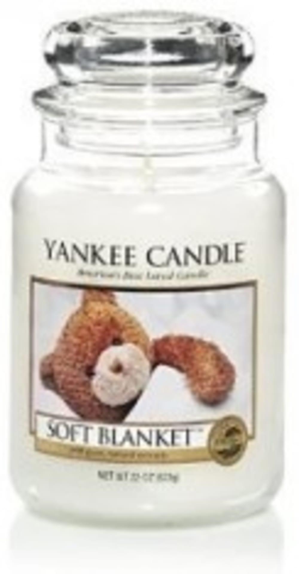 Świeca Zapachowa Soft Blanket Yankee Candle