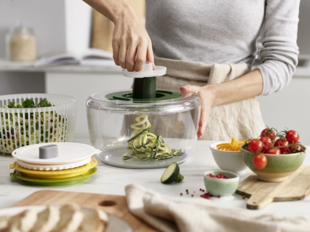 Zestaw do przygotowania sałatek miska durszlak Multi-Prep Joseph Joseph