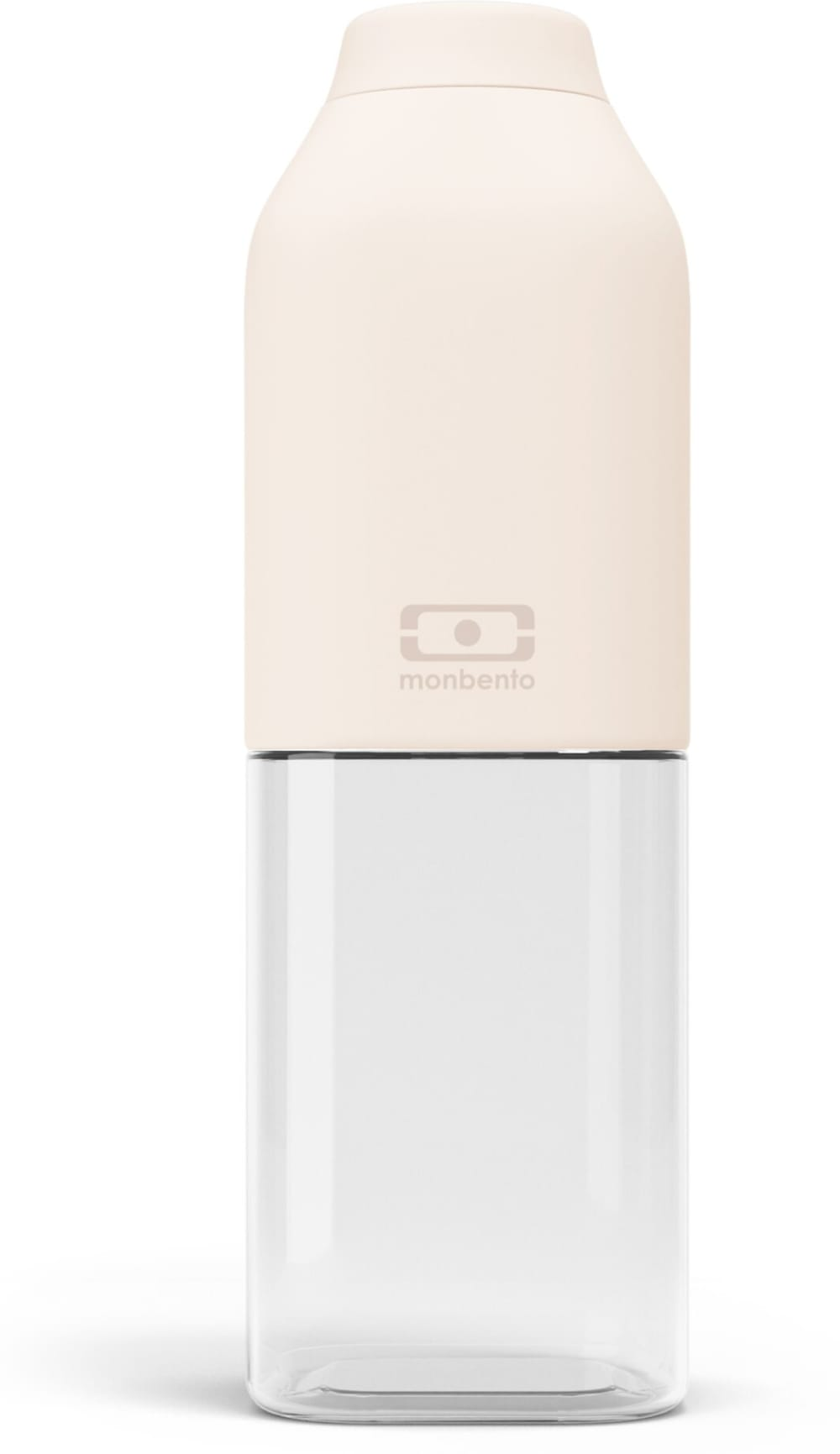 Butelka bidon na wodę, napoje MonBento, Natural cream 0,5l