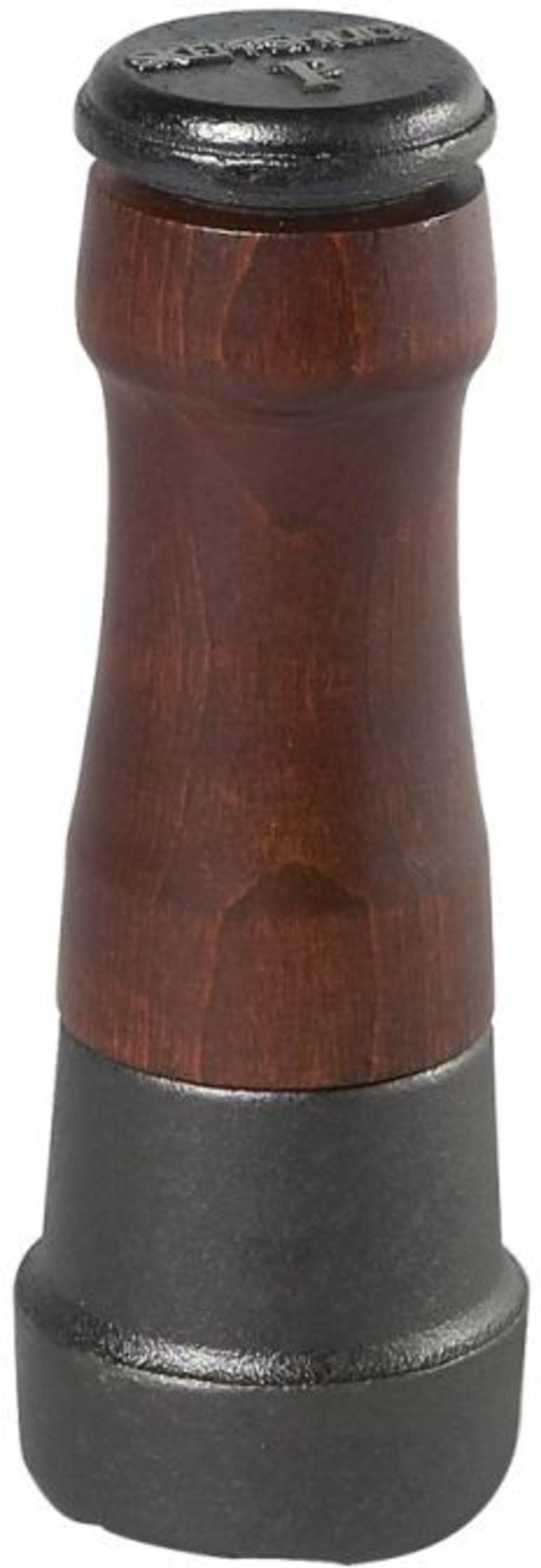Młynek do pieprzu 18 cm - drewniane wykończenie