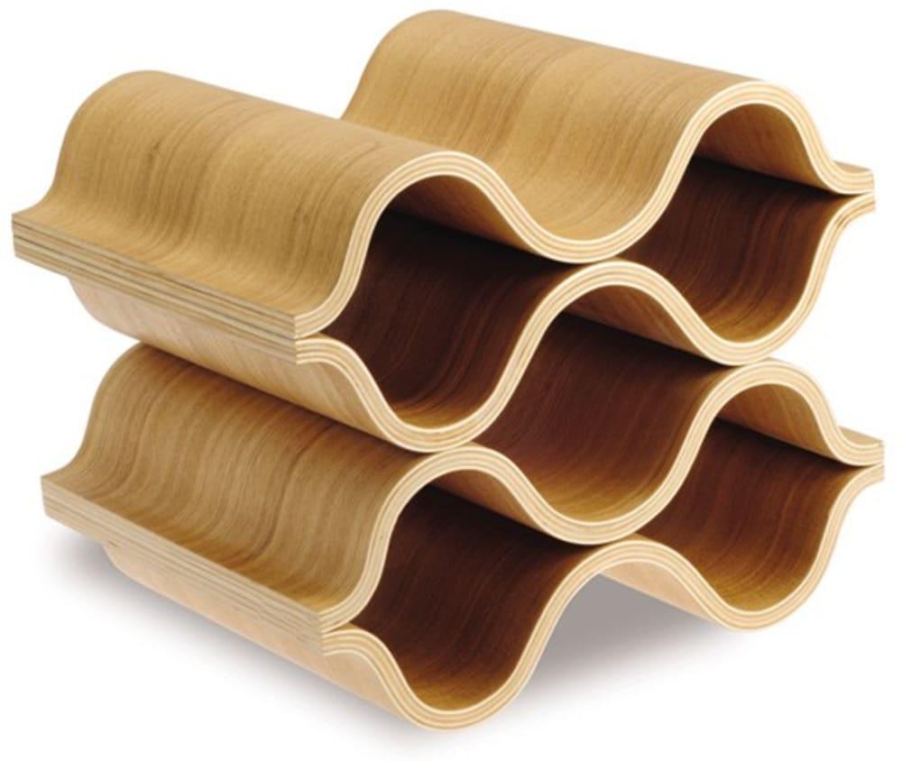 LEGNO - Marea - stojak na wino, drewno dębowe