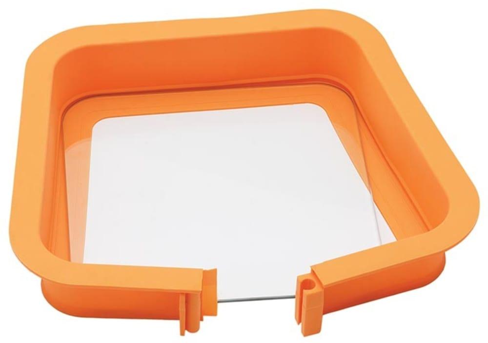 Forma do pieczenia kwadratowa (szklana podstawa)