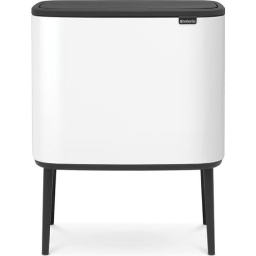 BRABANTIA Kosz na śmieci Bo Touch Bin 3 x 11L Biały