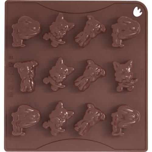 Forma na czekoladowe pralinki DOGGY x12