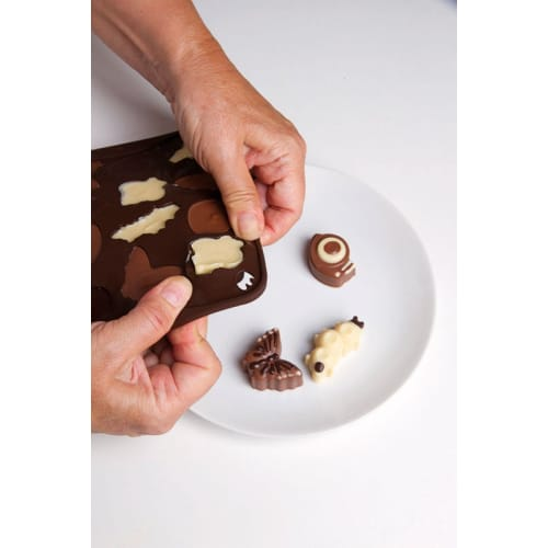 Forma na czekoladowe pralinki LATO x12 PAVONI