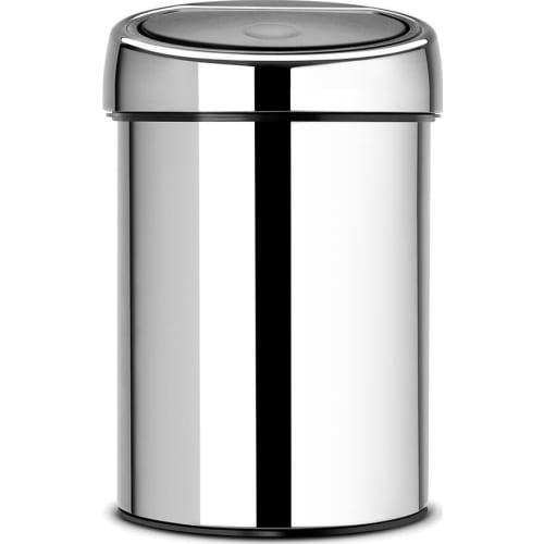 Brabantia kosz touch bin stal błyszcząca 3 L