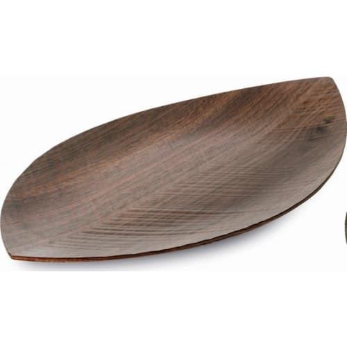 LEGNO - LEAF - taca orzechowa 330 x 195 mm, mała