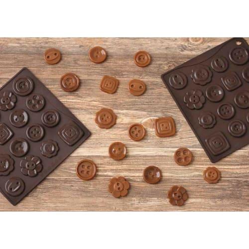 Forma na czekoladowe pralinki GUZIKI x16