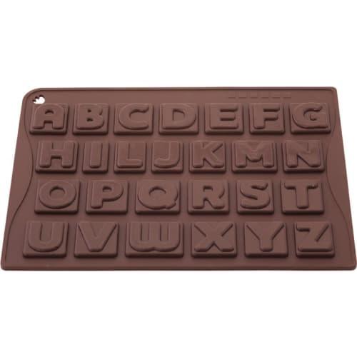 Forma na czekoladowe praliny ALFABET x26