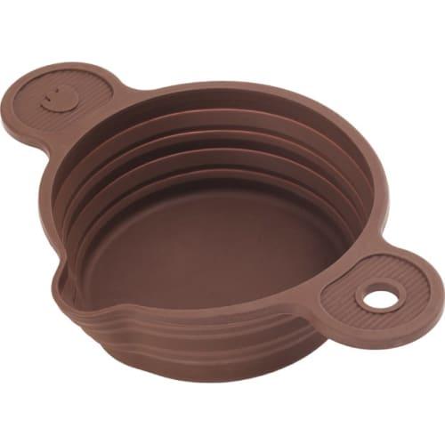PAVONIDEA Silikonowy wkład do kąpieli wodnej brązowy
