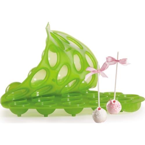 PAVONIDEA Forma do  lizaków z ciasta  SWEETPOPS zielona