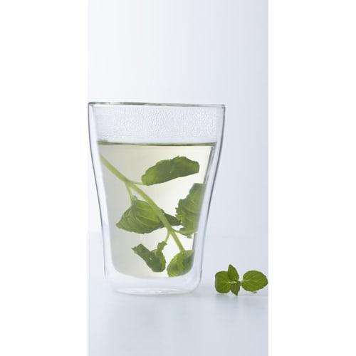 LO - Zestaw szklanek 2szt z podw.ścianką DUO 350ml