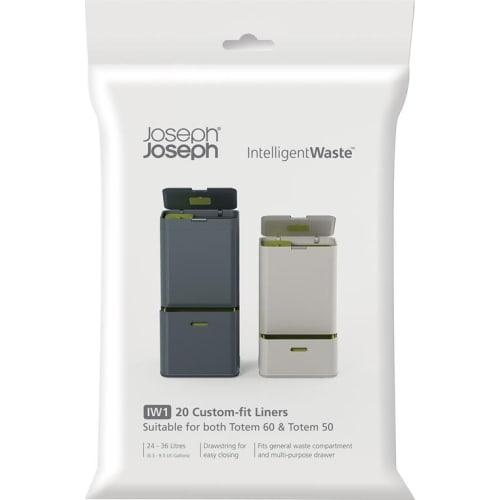 Worki na śmieci 20 sztuk Intelligent Waste Joseph Joseph