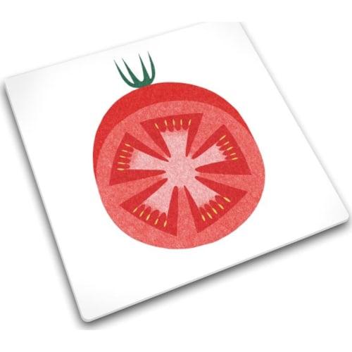 Podkładka szklana 30x30 Pomidor JOSEPH JOSEPH