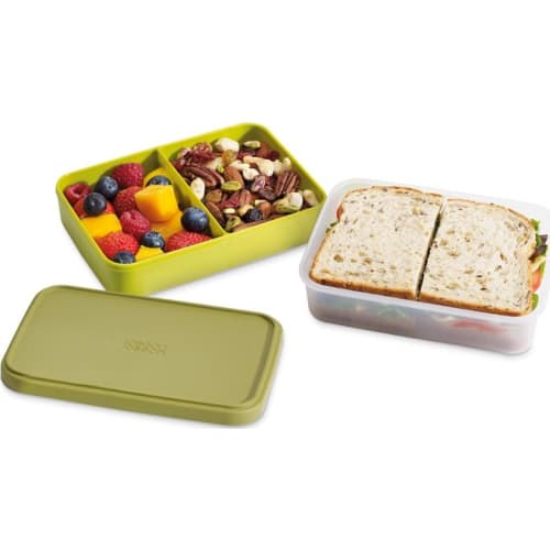 LUNCHBOX 2w1 GO EAT JOSEPH&JOSEPH