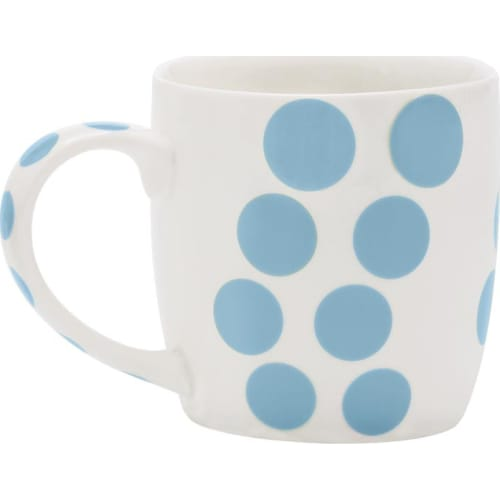 Zak! - Porcelanowy kubek, niebieski, Dot