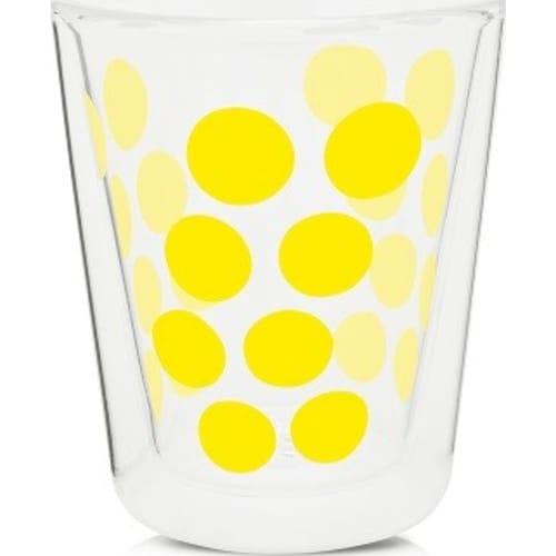 Zak! - Szklanka z podw. ściankami 200ml, żółta