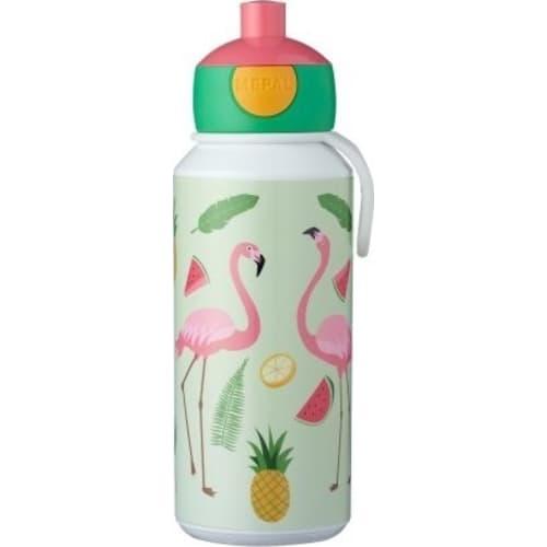 Mepal Bidon dla dzieci pop-up Campus 400ml Tropical Flamingo