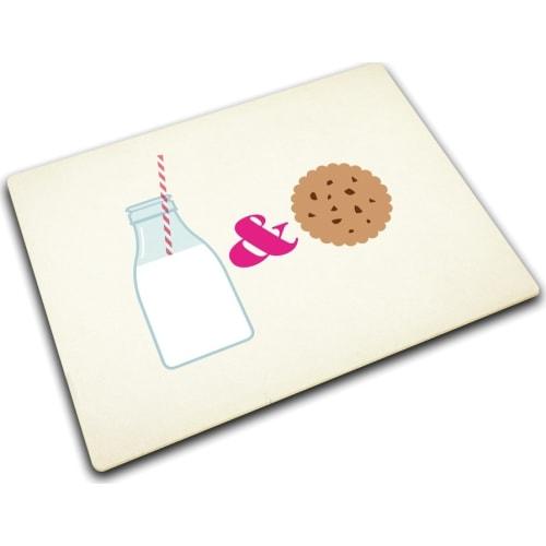 Podkładka szklana 40x30 Milk & Cookies JOSEPH JOSEPH
