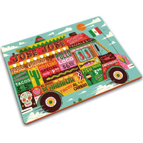 Podkladka szklana 40x30 Food Truck JOSEPH JOSEPH
