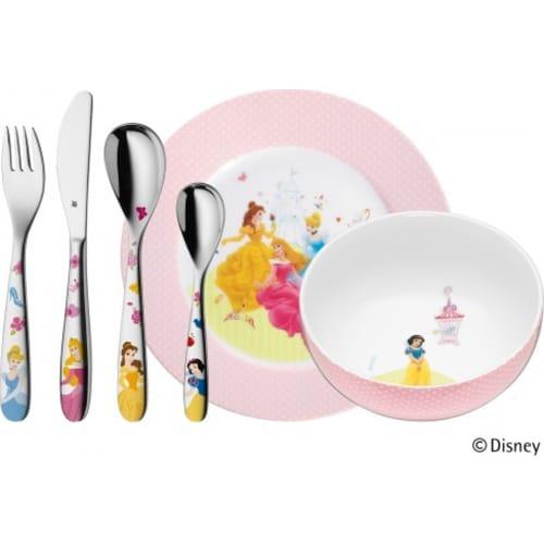 Zestaw dla dzieci 6 elementów Księżniczki Disney WMF