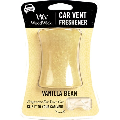 Woodwick Zapach do samochodu - Vanilla Bean