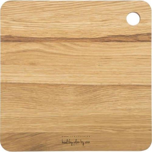 AL - Deska drewniana dębowa kwadratowa 27x27cm