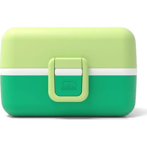Bento box MonBento TRESOR zielony APPLE