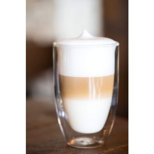 Vialli Design Zestaw 6x Szklanki termiczne do kawy latte Amo 350 ml