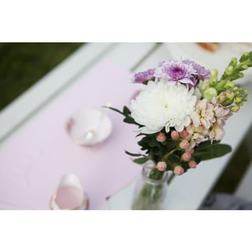 Silikonowa podkładka Miś We Might Be Tiny - Lilac