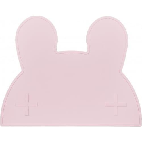 Silikonowa podkładka Króliczek We Might Be Tiny - Powder Pink