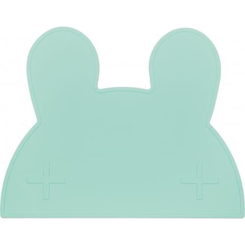 Silikonowa podkładka Króliczek We Might Be Tiny - Minty Green