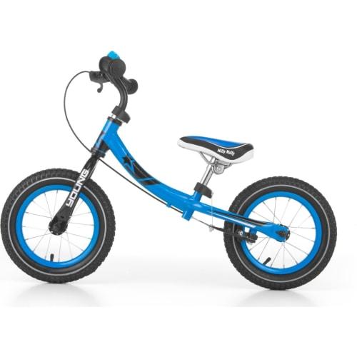 Rowerek Biegowy Dwukołowy Young Blue Milly Mally