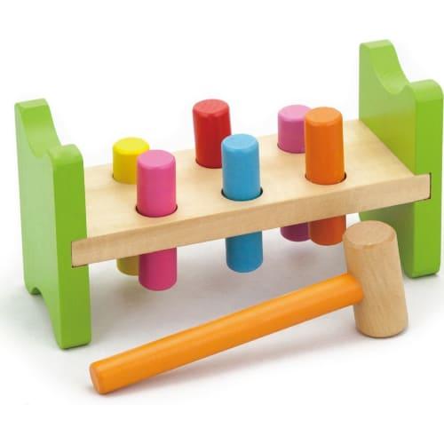 Zabawka drewniana. Przebijanka Viga