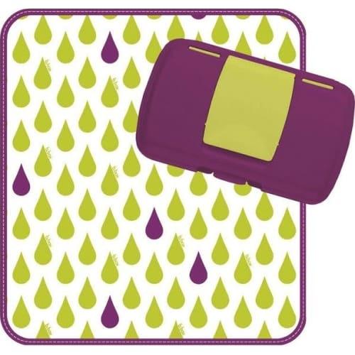 Przewijak w etui z miejscem na pieluchy i chusteczki, b.box Splish Splash