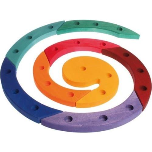 kolorowa spirala urodzinowa