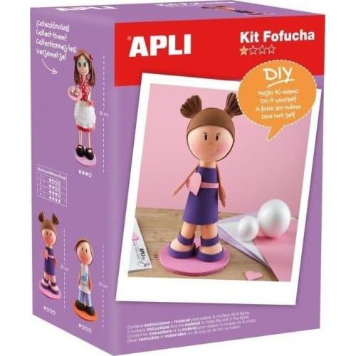 Lalka Fofucha Apli Kids - Dziewczynka