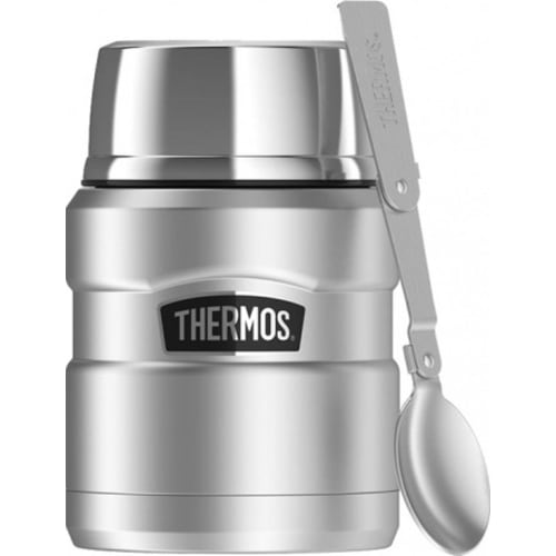 Thermos King Termos obiadowy z łyżką i kubkiem 0,47l