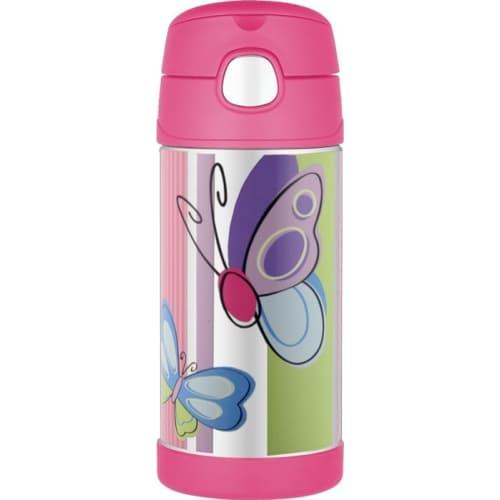 Thermos Funtainer Termos ze słomką Butterfly