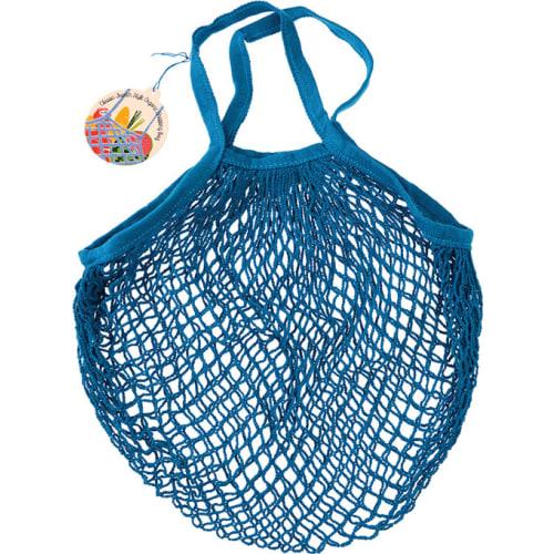 Siatkowa torba na zakupy Rex London niebieska
