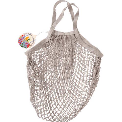 Siatkowa torba na zakupy Rex London jasnoszara