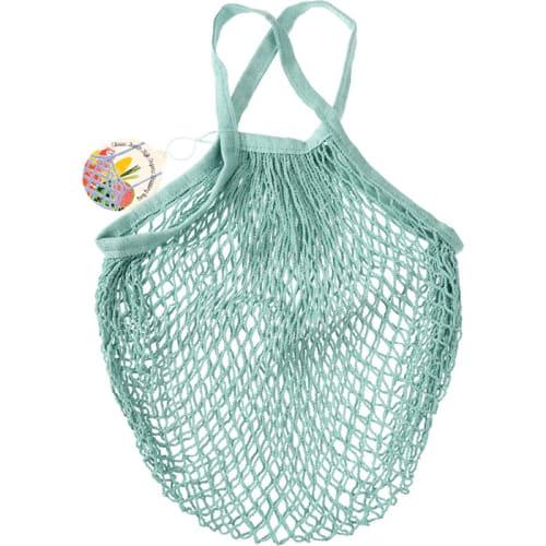 Siatkowa torba na zakupy Rex London seledynowa
